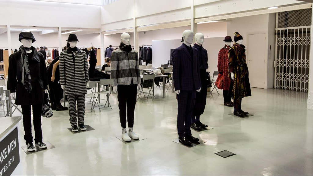 Inside the showroom in the Paris Fashion Week here in January c0a3601bb2d9d